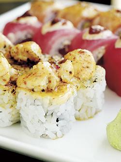 Edamame Sushi Nu-Asian Kitchen