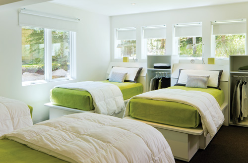 guest room design ideas and etiquette tips hour detroit magazinecharfoos design, bloomfield hills; 248 593 9393