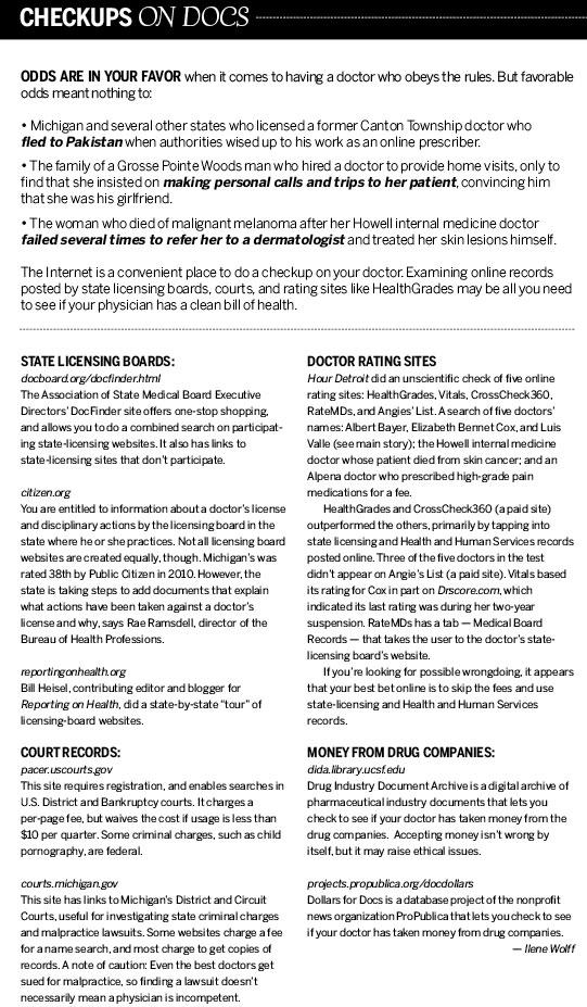 Doctors Behaving Badly - Hour Detroit Magazine