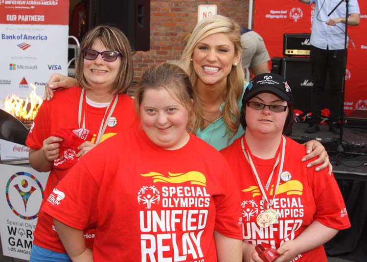 Special Olympics Unified Relay Across America