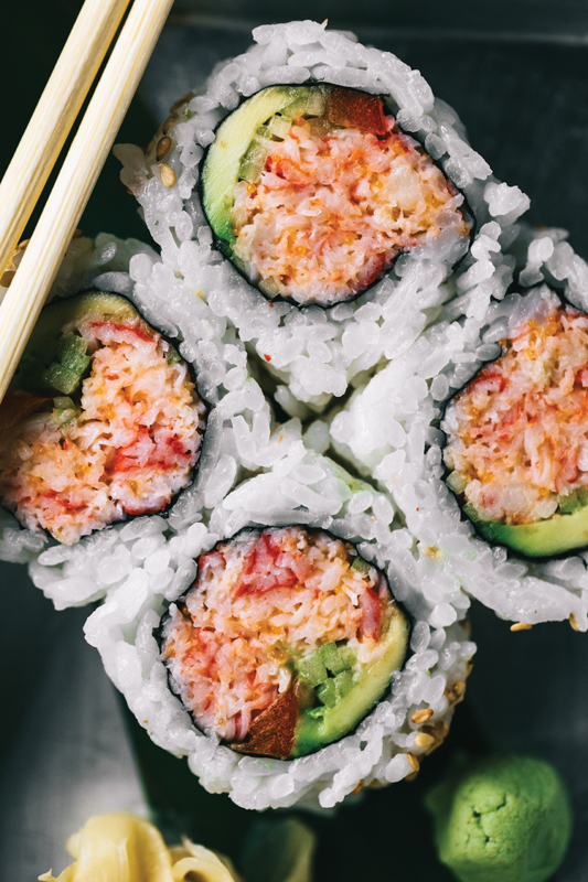 MOCAD's Super Happy Sushi Offers Simple Yet Fun Food
