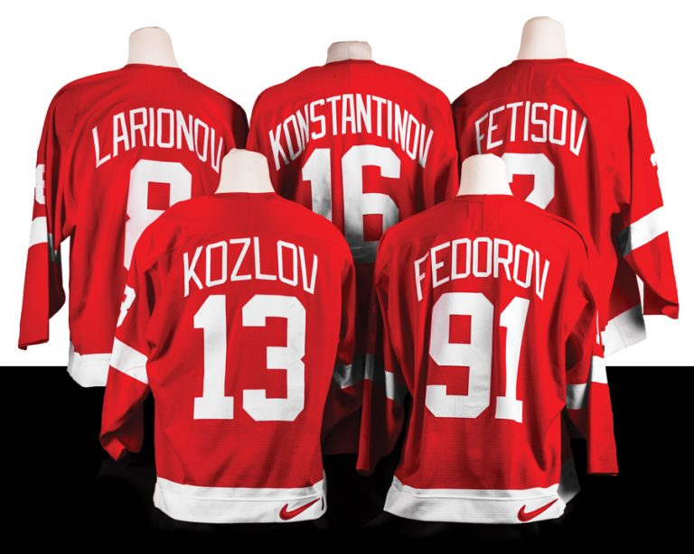 Detroit Red Wings Gear Up for District Detroit