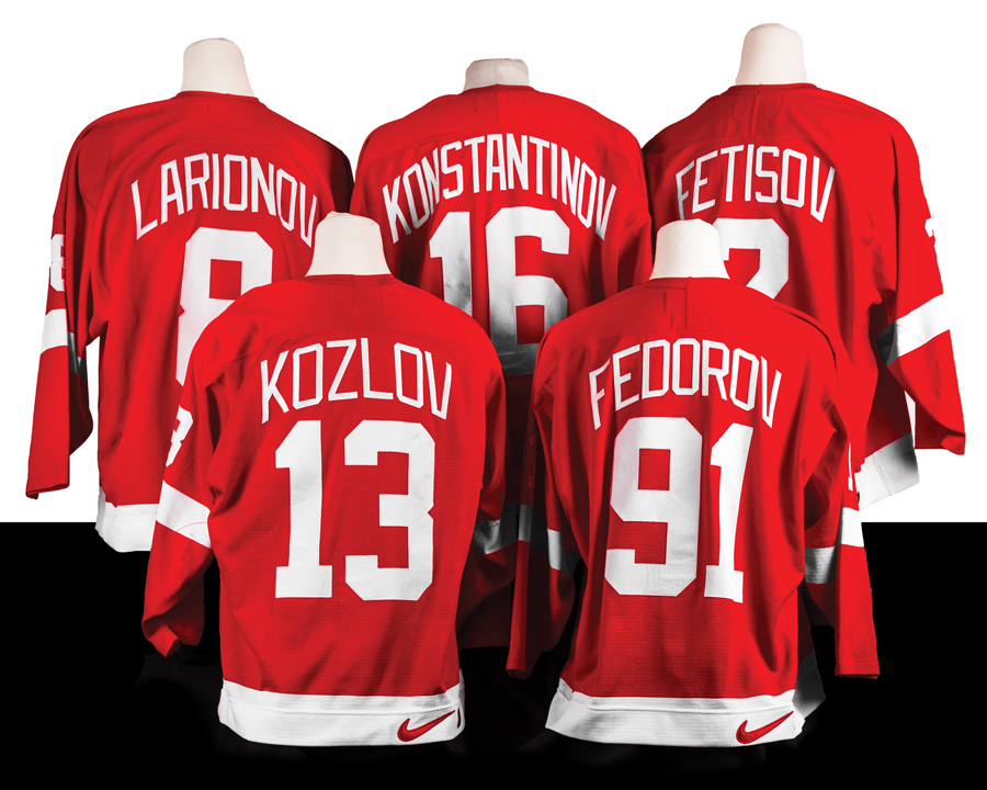 sneakers for cheap a6637 9a185 Detroit Red Wings Gear Up for District Detroit - Hour ...