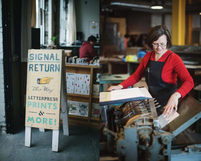Signal-Return's Power of the Press Festival Dedicated to the Print Arts