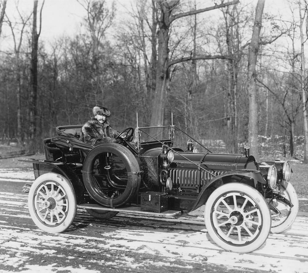 Packard company president Henry Bourne Joy