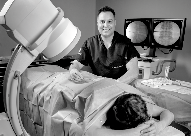 The Face of Interventional Pain Management - Dr. Martin F. Quiroga — Michigan Advanced Pain & Spine