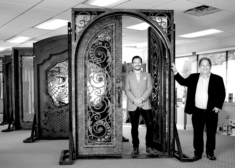 The Faces of Quality Custom Doors - Casey Yosin & Craig Yosin — Hardwood Door & Bevel or Iron Doors by HDB