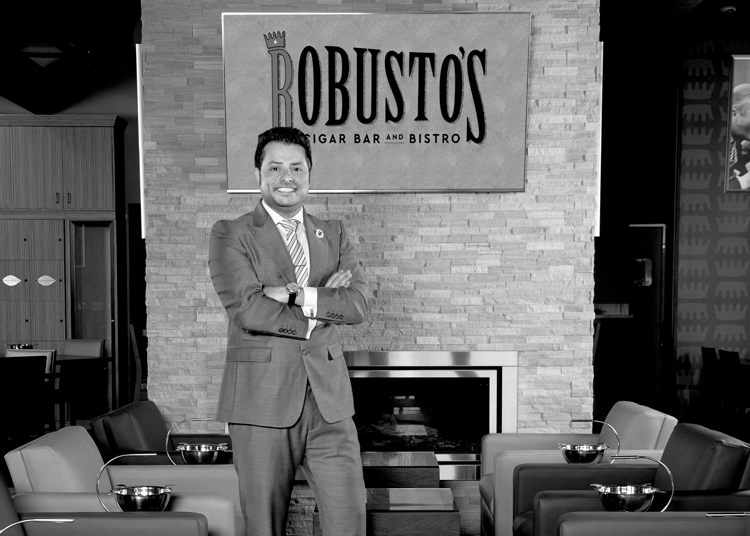 The Face of Hospitality - Harry Bahri — Robusto's Cigar Bar & Bistro