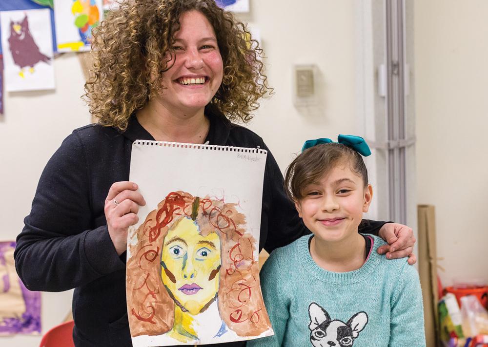 Project Art 2017-2018 resident Jane Orr