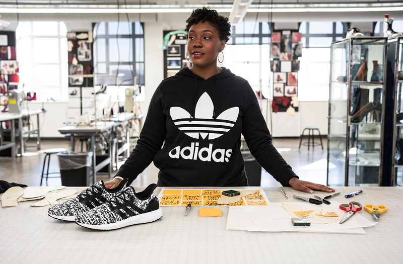 0b890c5369134 COLLEGE FOR CREATIVE STUDIES STUDENT KAYLA DONALDSON WITH HER ADIDAS AM4DET