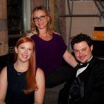 Karen Cook, Michele Fredericks, Dr. Matt Cook