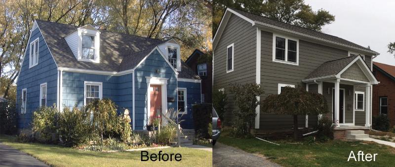 Renaissance Restoration Before/After