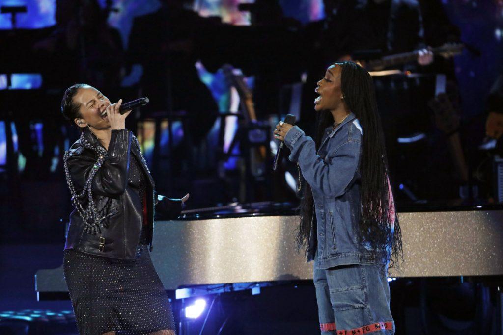 SZA and Alicia Keys