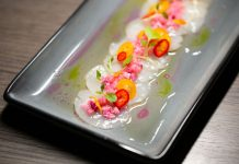 Scallops Carpaccio
