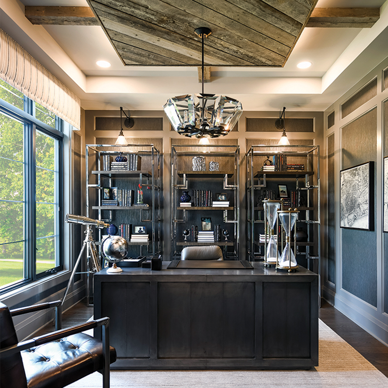 Cranbrook Custom Home - Heights Office