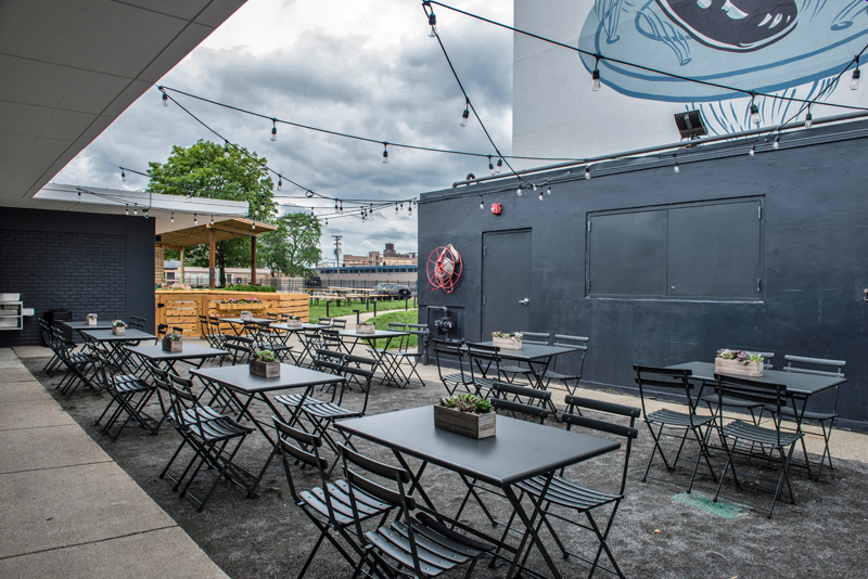 Outdoor Patio & Pump Room Bar