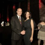 Alan Brown and Stephanie Pizzo