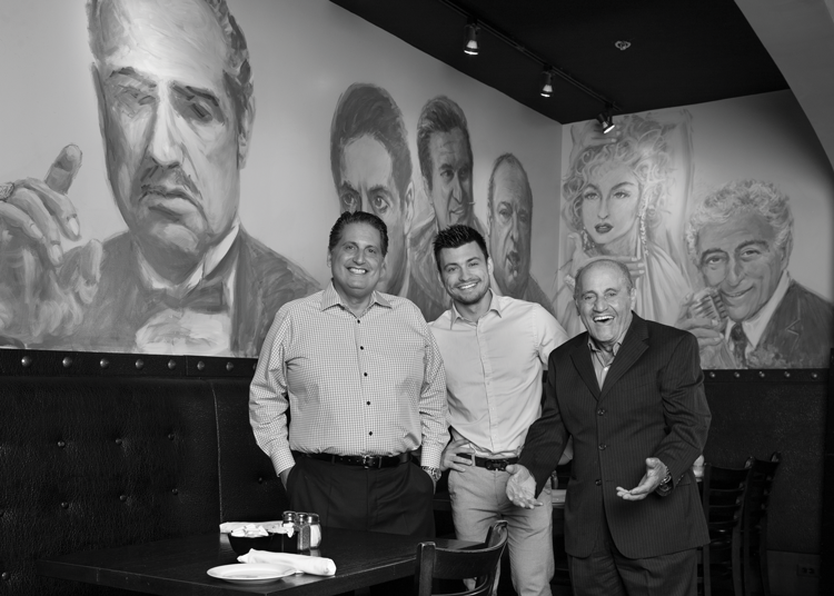Three generations of Italian excellence representing Da Francesco's Ristorante and Bar