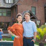 Janina Pesys and Zachary Hootman