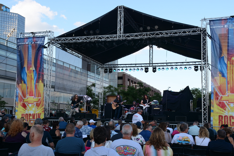 Rockin' on the Riverfront