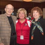 Rochelle Imber, Lynn LaPaugh, Ted Lindsay Foundation Board Member - Stewart Frank