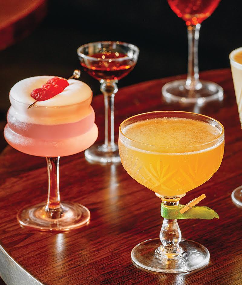 cocktails in metro detroit - nightcap