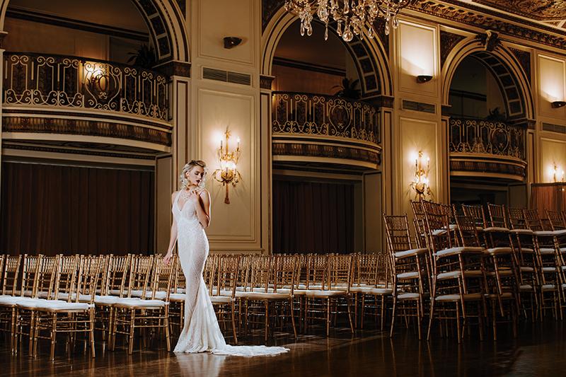 bridal couture designer Katerina Bocci