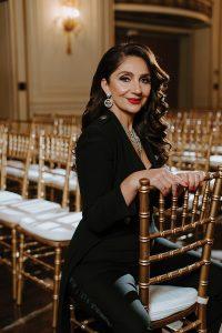 Couture bridal designer Katerina Bocci