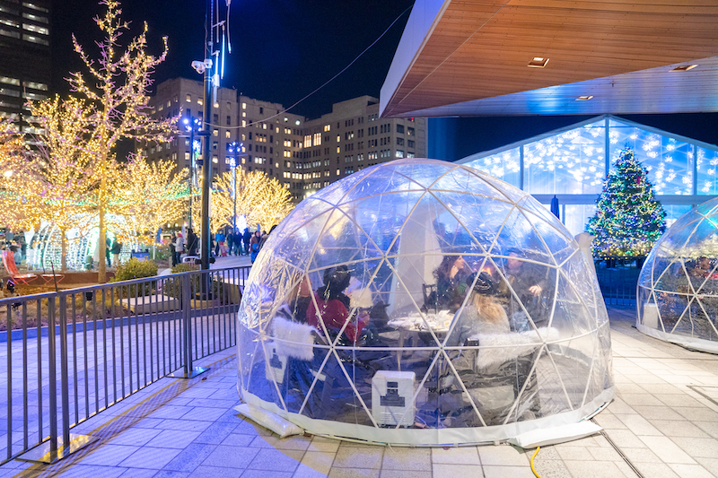 outdoor igloos Lumen