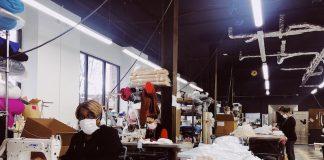 Detroit Sewn COVID Masks
