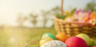 easter at home - metro detroit