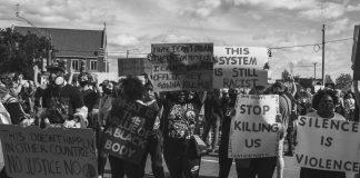 detroit activists blm protests