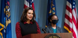 gov whitmer safety precautions pandemic