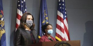 face masks michigan whitmer